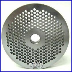 #12 X 1/8 Fine Grind Meat Grinder Disc Plate Hobart Cabelas LEM