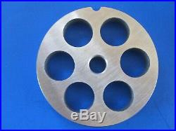 #22 4 pc SET Meat Grinding plate sausage stuffing disc knife cutter Hobart etc