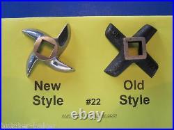 #22 NEW Meat Grinder Mincer Knife Blade for Hobart 4822 4622 4222 4422 V140