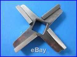 #22 PREMIUM Sausage Meat grinder knife Cuchilla Blade Hobart etc