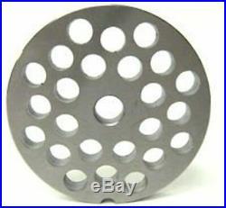 #22 X 3/8 Meat Grinder Disc Plate Hobart Cabelas LEM