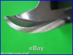 #22 x 3/4 Meat Grinder PLATE & KNIFE STAINLESS fits Hobart Tor-Rey LEM & More