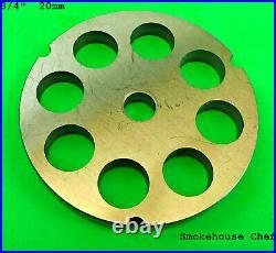 #32 Meat Grinder Plate Disc Die for Hobart Cabelas LEM Pro Cut Weston PICK TWO