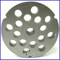 #32 X 1/2 Meat Grinder Disc Plate Hobart Cabelas LEM