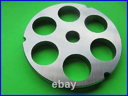 #32 x 1 & Stuffing disc Meat Grinder Plates for Hobart LEM Cabelas Biro etc