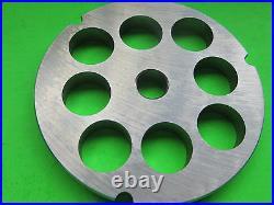 #32 x 3/4 & 1 Meat Grinder Plates for Hobart LEM Cabelas Biro Universal etc