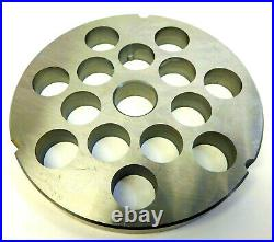 #42 3/4 (20mm) Meat Grinder Plate for Hobart Cabelas Biro Weston Berkel etc