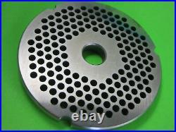 42 x 1/4 6 mm Hobart 4342 4542 Cabela's Carnivore Biro Meat Grinder Plate Disc