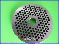 #52 x 1/4 & 1/2 holes for commercial Biro Berkel Hobart Meat Grinder Plate Disc
