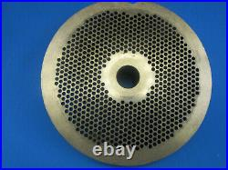 #56 x 1/8 holes Meat Grinder plate for Hobart Biro Butcher Boy Exc Condition