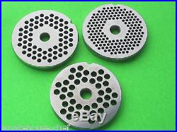 5 pc. SET #12 Meat Grinder Disc Plate and Knife for Hobart PD35 PD70 D330 H600