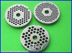 5 pc. SET Meat Grinder Disc Plate and Knife for Hobart PD35 PD70 D330 H600 a200