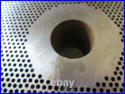 #66 X 1/8 3.0 mm holes STAINLESS Meat Grinder plate & knife Hobart Biro Berkel