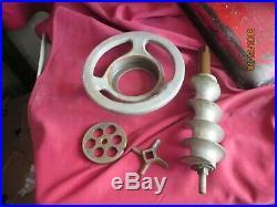 Antique Vintage Hobart Model 622 meat grinder 464 416197 runs speed 1725