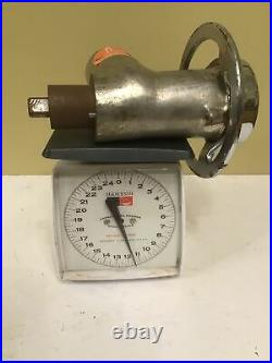 BLAKESLEE # 12 COMMERCIAL MEAT GRINDER ATTACHMENT Hobart see pics measurements