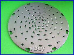 Cheese shredder attachment for Hobart meat grinder motor 4212 8412 8812 4612