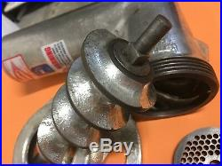 Commercial Meat Grinder Attachment Fits Hobart Mixer #12 Hub