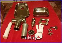 Commercial Meat Grinder Attachment for Hobart Professional Mixer
