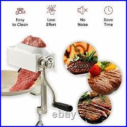 Commercial Meat Tenderizer Cuber Heavy Duty Steak Flatten Tool Meat