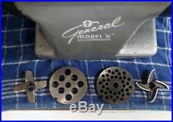 General Slicing Model K Commercial Meat Grinder Food Chopper Hobart Compatible