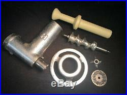 Genuine HOBART MEAT GRINDER ATTACHMENT With Stomper. Size #12. Our #4