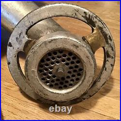 Genuine HOBART Size #12 Meat Grinder Attachment Feed Pan Feed Stomper
