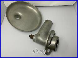 Genuine HOBART Size #12 Meat Grinder Attachment With Pan