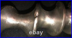Genuine HOBART Size #12 Meat Grinder Attachment With Pan & Stomper