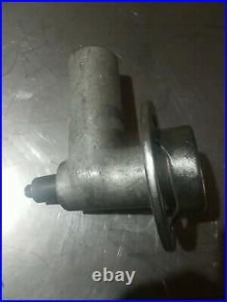 Genuine HOBART Size #12 Meat Grinder Attachment With knife, auger, Nice
