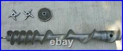 Genuine Hobart Meat Grinder/Mixer Model 4346 Auger Worm PN#00-111840 /w Blades