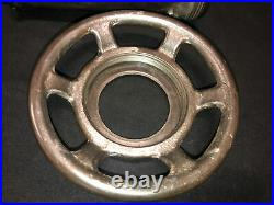 Genuine Very Rare Vintage HOBART 4332 Size #32 Meat Grinder Cylinder & Ring