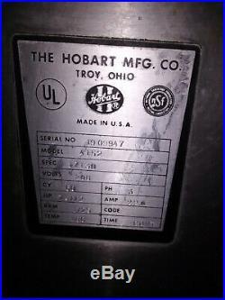HOBART 4152 Heavy Duty Commercial Meat Grinder 208V 3 Phase
