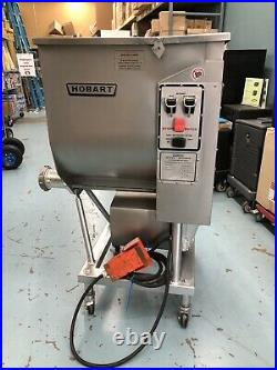HOBART # 4346, 215 Lb. Meat Mixer/Grinder with Foot Pedal