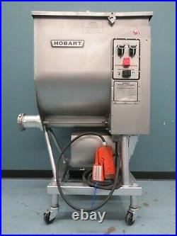 HOBART #4346 215lb. Meat MIxer/Grinder with foot pedal
