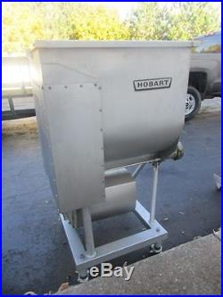 Hobart 4346 Commercial Meat Grinder Mixer Extruder With Foot Switch Controls
