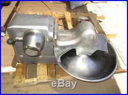 Hobart Buffalo Chopper Mixer Meat Grinder Model 84181d 18 Bowl 3450 RPM