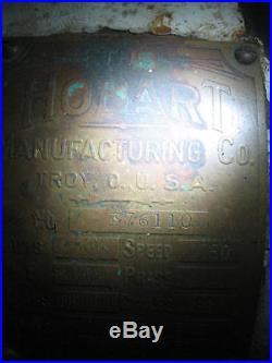 Hobart Meat Grinder Vintage 1930's 40's
