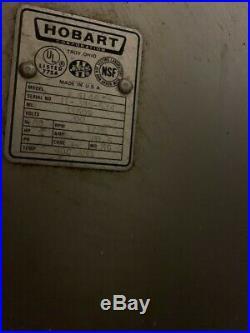 HOBART MEAT GRINDER used commercial restaurant equipment -HOBART