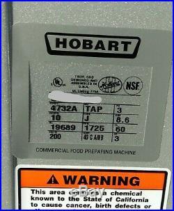 HOBART Tabletop Meat Grinder 4732A