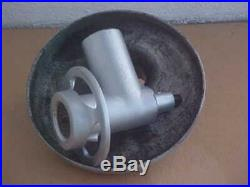 Hobart #12 Commercial Meat Grinder Attachment W Tray