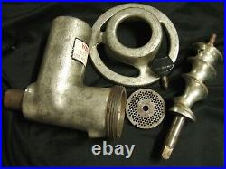 Hobart #12 Meat Chopper Grinder Attachment Parts Worm Auger Ring Cap 1/8 Plate