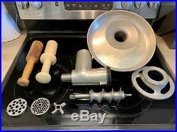 Hobart #12 Meat Grinder Attachment A120 A200 D300 D340 Mixer