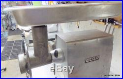 Hobart #12 Meat Grinder Attachment With Extended Pan new Knife, Plates Tube