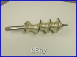 Hobart #12 meat grinder Auger, genuine OEM part # 00-015878