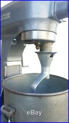 Hobart 20 Quart qt Dough Mixer A200 with Bowl Hook and Meat Grinder Attachment