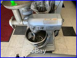 Hobart 20qt Mixer With Meat Grinder Attachment