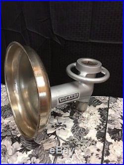 Hobart #22 Meat Grinder Nut Grinder 3/4 Mixer Shaft Nice