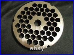 Hobart #32 3/8 Fits 4146 4246 4732 MG2032 MG1532 meat chopper Grinder Plate NEW