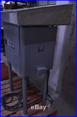 Hobart 4146 Commercial Meat Grinder Motor Feed Pan 208V