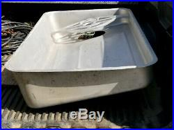 Hobart 4146 Commercial Stainless Steel Meat Grinder Pan